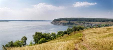 Lake shore view